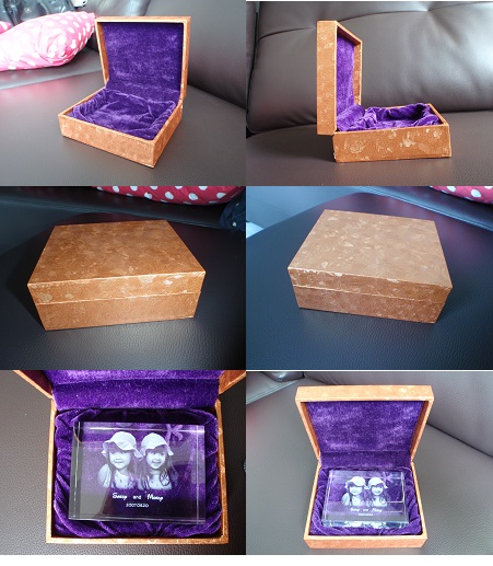 Laser Crystal Box - MachineThailand.com